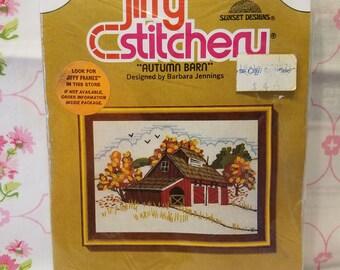 New Old stock Jiffy Stitchery