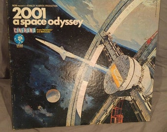 2001 A Space Odyssey Music from the Motion Picture Sountrack on Vinyl