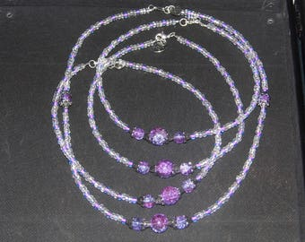 4 piece SET Beautiful Mother & Daughters Necklaces! -Priority Shipping! See shop for MORE Jewelry!