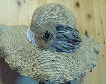 Summer floppy hat