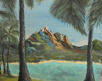 The exotic beach