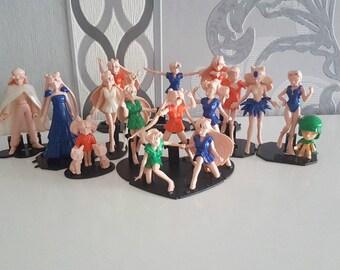 XXL Sailor Moon Doll Figure Collection Moon Mercury Mars Jupiter Venus Chibi Luna Artemis Pluto Serenity Moonlight Knight Black Moon Sisters