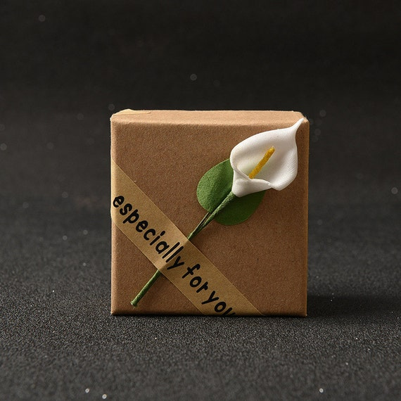 20pcs 5 5 5 5 3 7cm Sticky Flower Jewelry Box Heaven And
