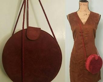 Vintage Andé Wine Barrel Crossbody & Shoulder Bag