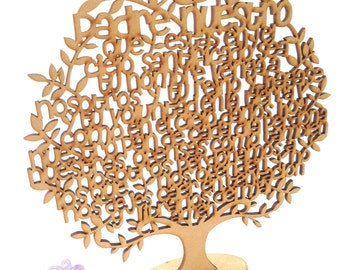 Padre Nuestro/ Our Lord Prayer Tree