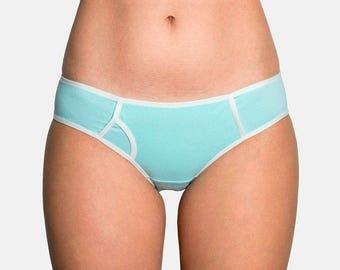 Mint color panties