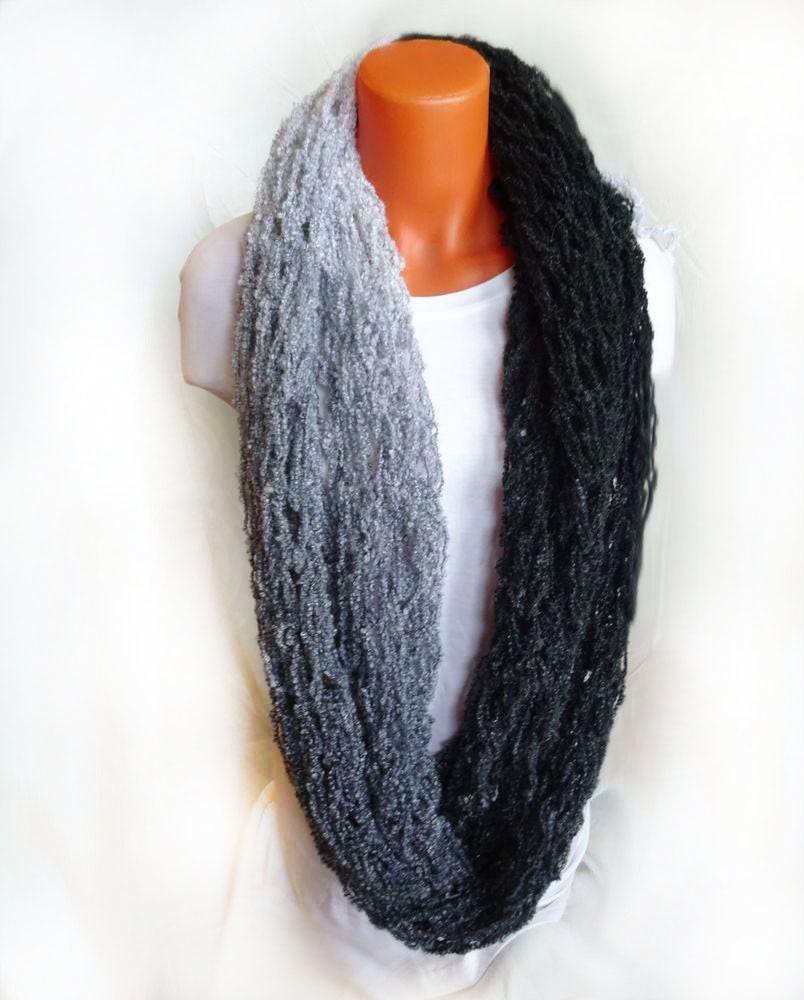Arm knit infinity scarf, Arm knit scarf , multifunctional scarf ...