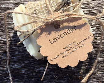 All Natural French Lavender Soap