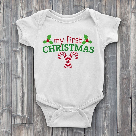 My First Christmas 100% Soft Cotton ONESIE
