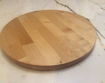 Round Butcher's Block Cutting Board