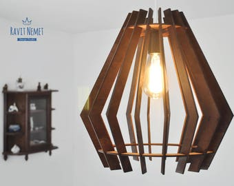 Vintage Laser Cut Lamp
