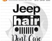 Digital File, Jeep Hair D...