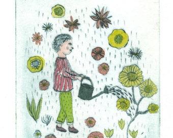 Petit Jardinier #1- Little Gardener #1
