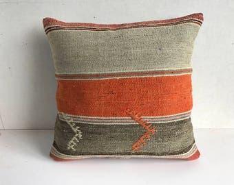 Hand made Turkish kilim pillows 40x40