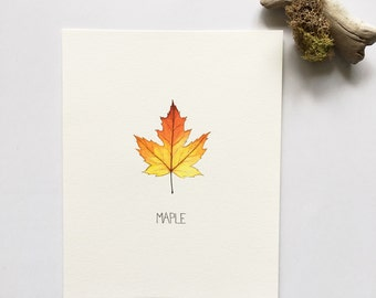 Maple Leaf - Original Painting