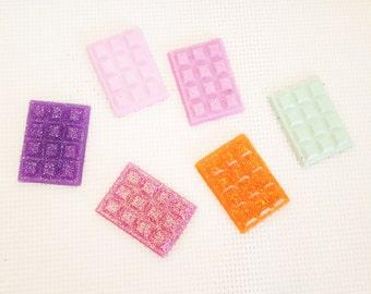 chocolate bars-chocolate 3 or 4 pieces decoden random color