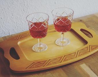 Wooden Servingplatter