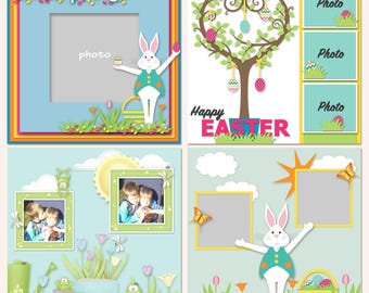 Bunny Business Page Format Digital Templates