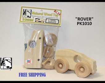 Natural Wood Toy Rover  Kit PK1010