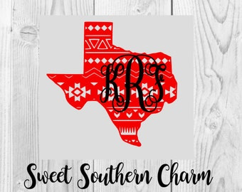 Aztec Texas svg file - texas svg file - texas svg files - aztec svg files - state svg files - state cutting files - texas cutting files