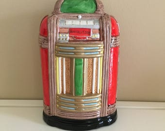 Vintage Coin-Activated Whirlitzer Musical Bank