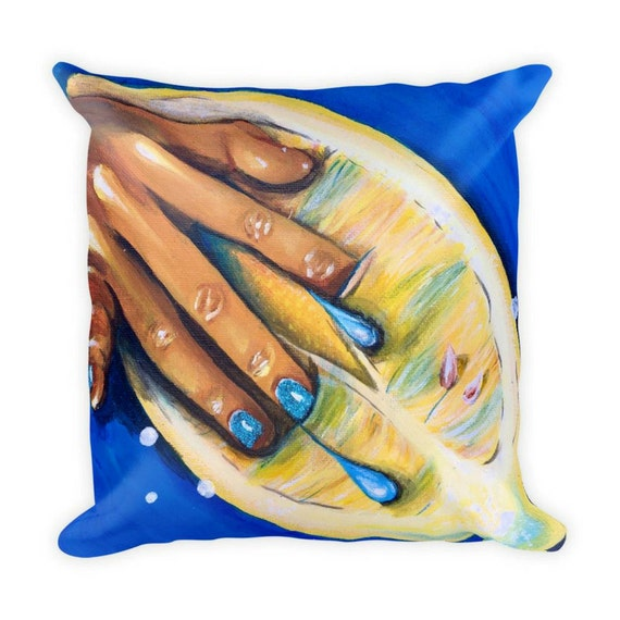Squirt Erotic Pillow | Bed Pillow | Kink | Playful Bedding | Naughty Gift