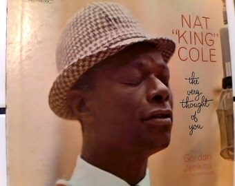 Nat King Cole 'The very thought of you' LP vinyl album