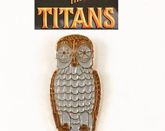 Clash of the Titans Bubo Owl Pin