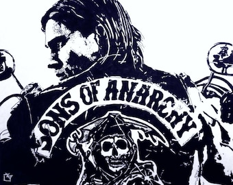Sons of Anarchy - SOA TV Series (Original Artwork)