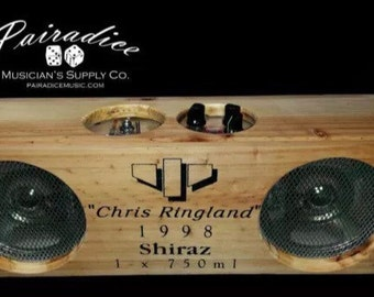 "Pairadice Amplification One of a Kind ""Chris Ringland"" Shiraz Wine Box Guitar Amp, hand built in California"