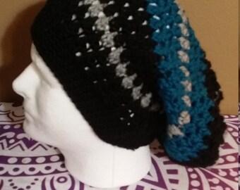 Slouchy dreadlock hat