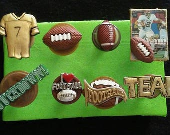 Football Push Pins