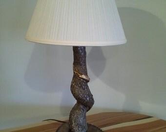 Tree Trunk Lamp Etsy