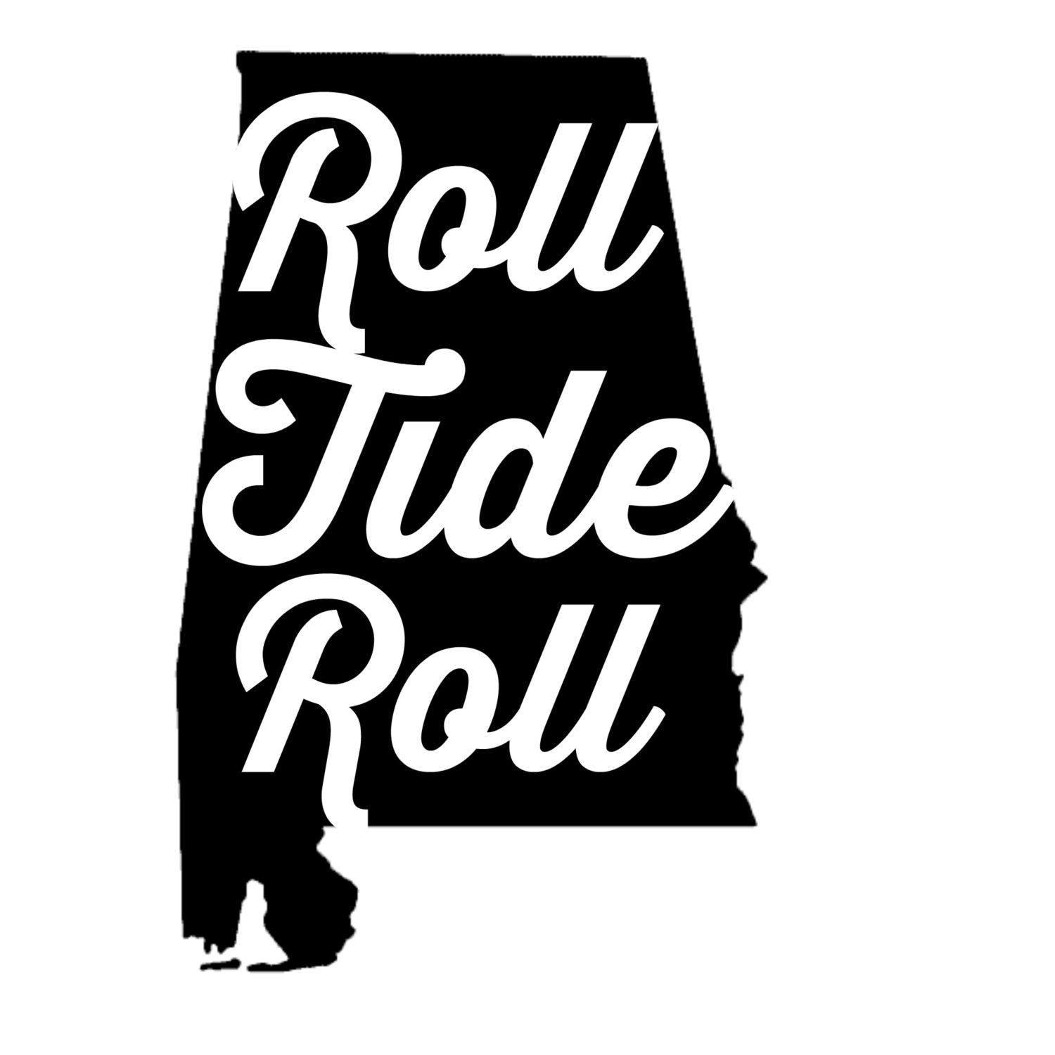 Roll tide roll alabama football decal by decalsbyannabelle for Alabama football mural