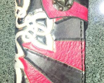 wallet BIKER leather repel