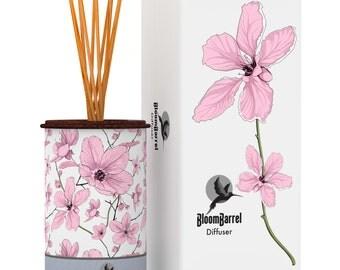 BloomBarrel Diffuser - Mandarin & Watercress.  250mL | 8 fluid oz.