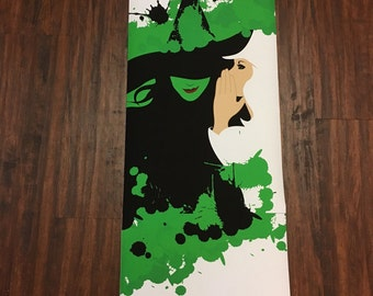 "Broadway Wicked Digitally Created Artwork 12""x36"" No Frame"