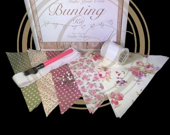 Make Your Own Bunting Shabby