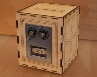 Vintage PO Box Money Bank