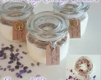 White Sage Smudge Candle's