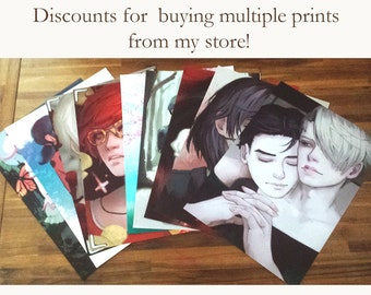 "Multiple Print Discounts (A3/11.7""x16.5"")"