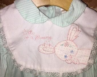 Vintage Easter bunny dress