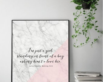 Julia Roberts Quote Print