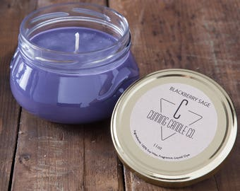 Blackberry Sage Soy Wax Candle