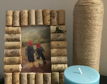 Wine Cork Picture Frame 4x6