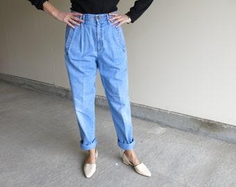 Light Denim Trouser // Vintage Liz Claiborne Jean