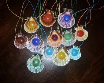 mermaid/merman necklaces