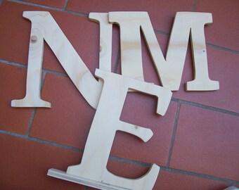 Wooden letters 20 cm