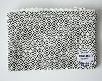 Pochette - cluth bag - Jacquard fabric