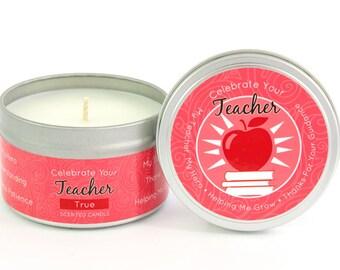 Celebrate Your Teacher Milestone Candle 6.5 oz.